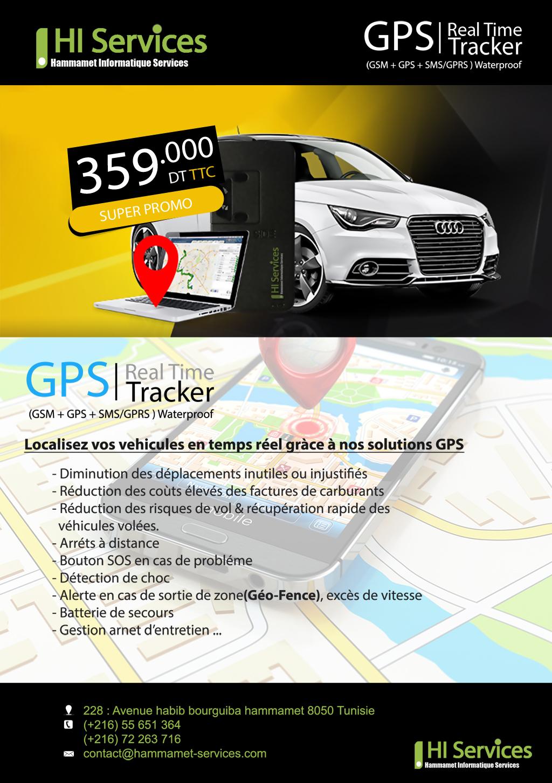 GPS Tracker etProtection Anti-Vol et localisation temps réel en tunisie