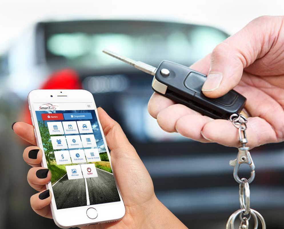 logiciel gestion agence location voitures tunisie